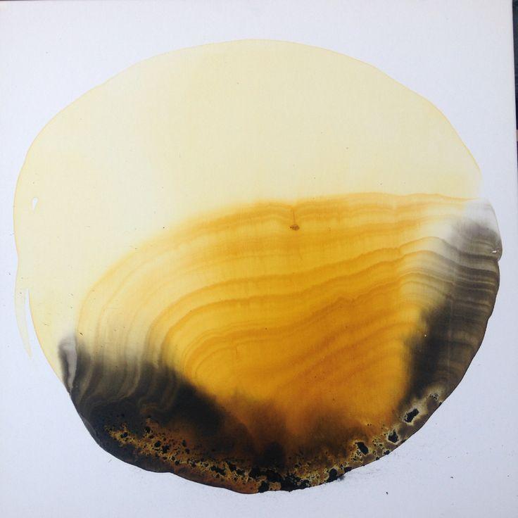 Ilaria Franza Mixed tecnique in canvas  60 x 60 cm 2016  Art for sale