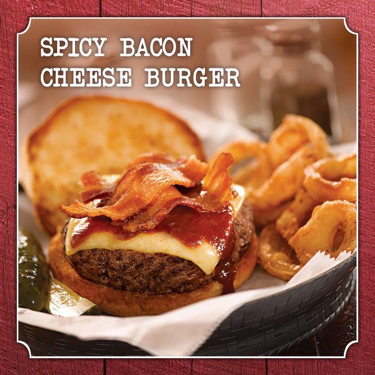 Spicy Bacon Cheese Burger. A recipe for Father's Day! #recipe #worcestershire