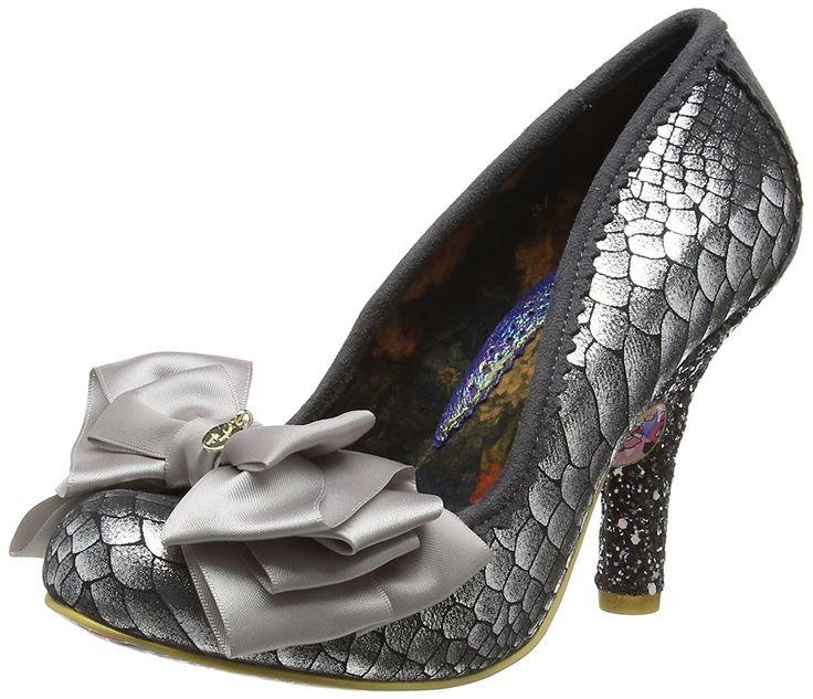 Irregular Choice Women's Ascot Silver Court Shoe Heeled Pump... #CourtShoe #BestPrice: $100.80 - $100.85 Grab NOW! @bestbuy9432
