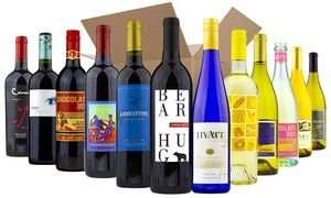 Six or 12 Bottles of Red, White, or Mixed Wine from Wine Insiders. Groupon deal price: $39