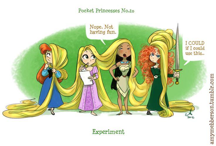 Funny Disney Pocket PrincessesComics - News - GeekTyrant