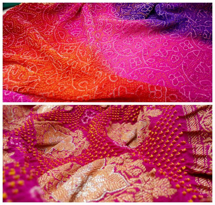 Multi-colored gorgeous looking Banarasi bandhani dupatta with heavy banarasi border and pretty golden banarasi butta. Add panache to your outfit by adorning this beauty. Limited Stock!  www.sankalpbandhej.com For more details call/whatsapp - 9377399299  #sankalpthebandhejshoppe #bandhanidupattas #dupattas #bandhanisarees #bandhanidressmaterial #dresses #designerdupattas #tiendye #banarasidupatta #bandhejdupattas #multicolordupattas