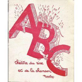 Abc - Programme - La Route Fleurie - Bourvil Et Georges Guétary de Théâtre ABC