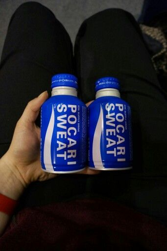 #vendingmachineadventures double sweat at the airport - handy on the plane