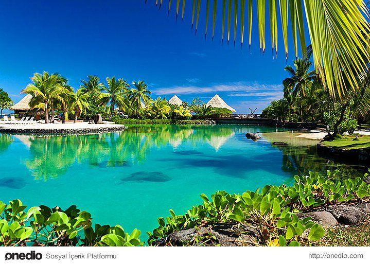 Pasifik'in kraliçesi Bora Bora #ada #seyahat #tatil