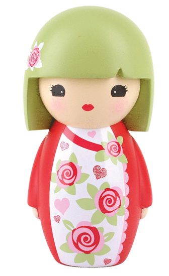 Japanese Kimono Kokeshi Dolls