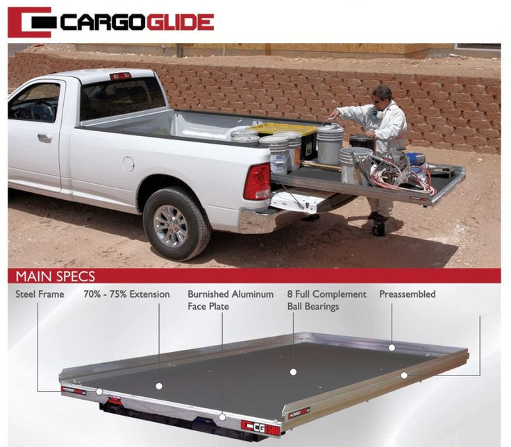 A truly must have item for any Pickup! Our Bedslide Truck Bed Storage allows for easy access to your tools and or cargo.