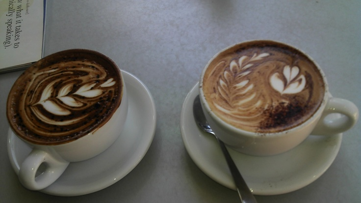 our lovely coffees, whos got better?