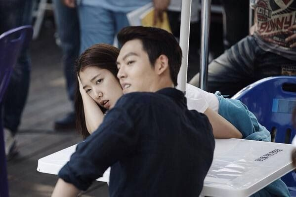 24 best images about Park Shin Hye and Kim Woo Bin on ... Park Shin Hye And Kim Woo Bin Hug
