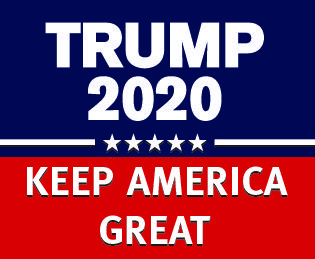 TRUMP 2020 KEEP AMERICA GREAT GOP Populism USA 1ST Lawn