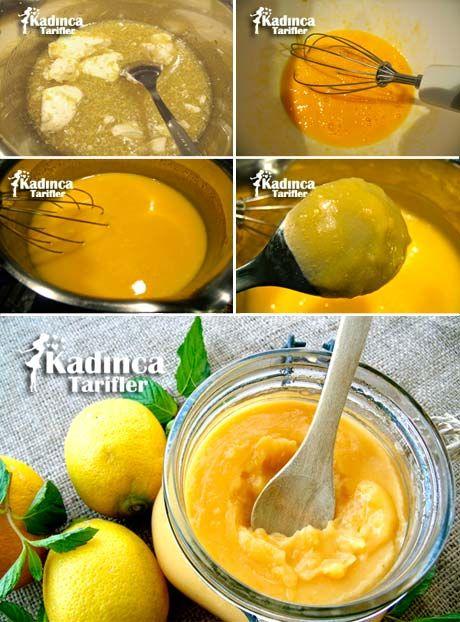 Limon Kreması Tarifi