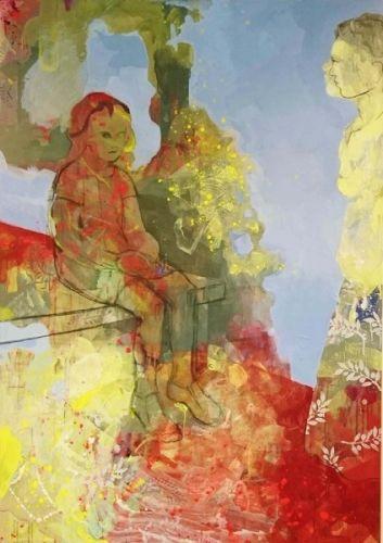 Kunstner:+Henriette+Emilie+Finne   Teknikk:+Maleri,+akryl+på+lerret   Størrelse:+170x120+cm   5%+kunstavgift+inkludert+i+prisen      Klikk+på+bildet+for+en+større+utgave