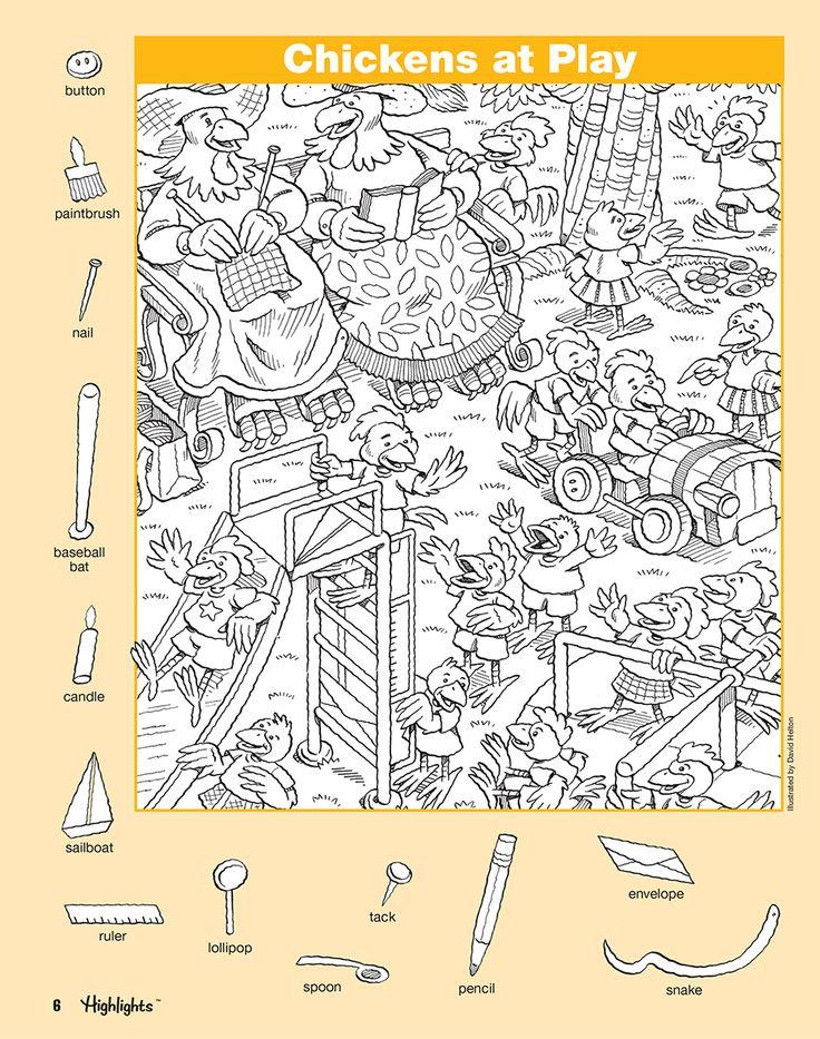 Hidden Pictures Book 3 (Series 6) | Scholastic Asia