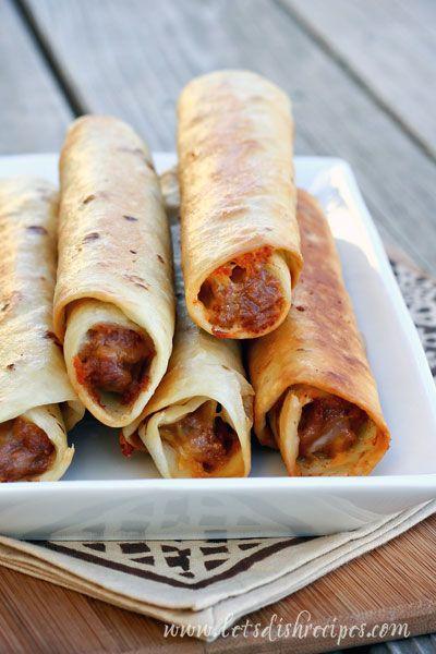 Crisp Bean Burritos (Taco Time Copycat) on MyRecipeMagic.com
