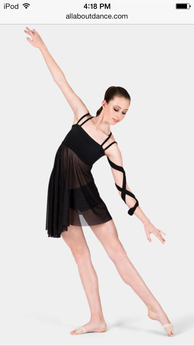 Lyrical dance costume. On allaboutdance.com