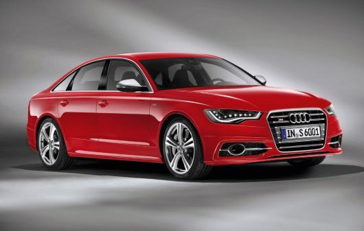 The 2012 Audi S6 sedan is powered by a 5.2-liter V10 engine that sets the large S model apart from its competitors.