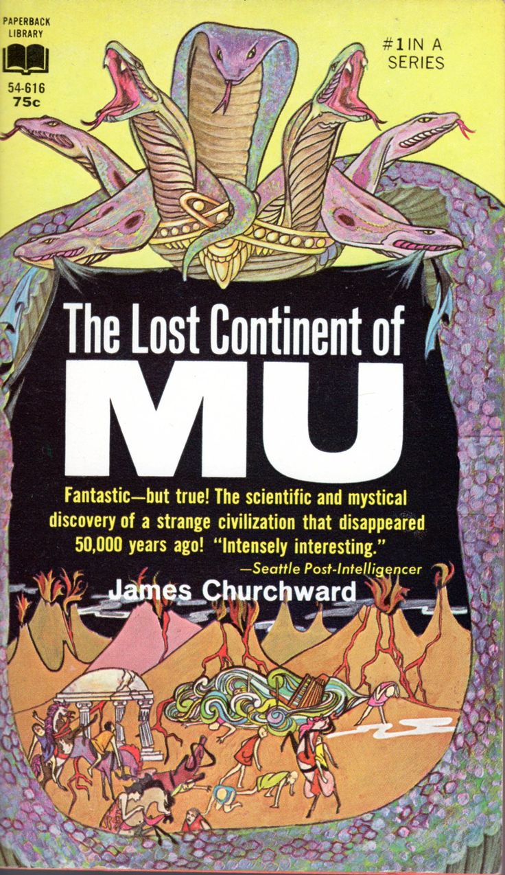 The Lost Continent Of Mu  James Churchward