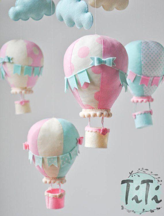 New Baby Card Custom Hot Air Balloon