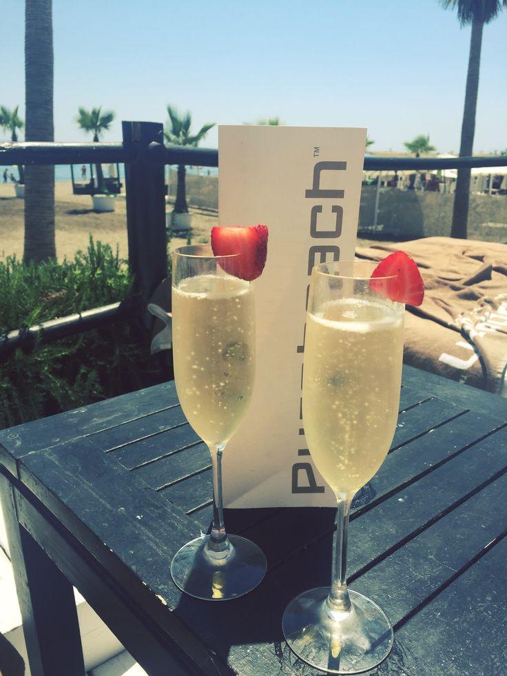 puro beach club, marbella, spain