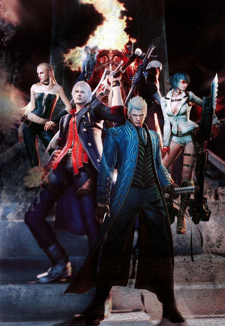45 Best Images About Devil May Cry 4 On Pinterest