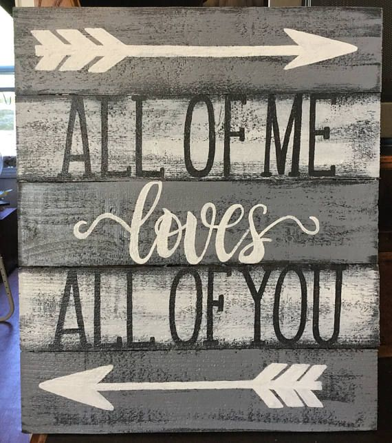 This sign would sit perfectly in your master bedroom . Or it would make a wonderful gift for newlyweds . Here at Sign D Sign we strive for perfection so each sign is made with many hours or hard work and make sure every piece is something we would hang in our own home. This sign measures approximately 18 inches tall and 15inches across The background colour- black, white and grey The writing is white and black It does have a non yellowing protective coating on it. It is able to go outside…