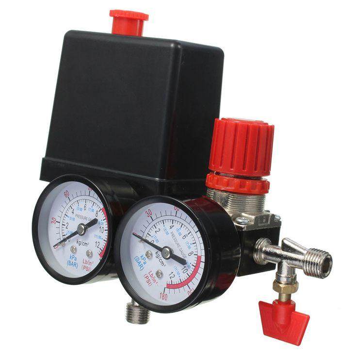 check discount new arrival air compressor pressure valve switch manifold relief regulator gauges #pressure #relief #valve