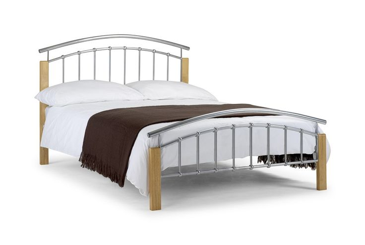 Bonsoni Azure 5Ft King Size Bed Frame   Its extremely sturdy construction ensures durability, while a sprung slatted base provides added comfort and a prolonged mattress life.   https://www.bonsoni.com/azure-5ft-king-size-bed-frame