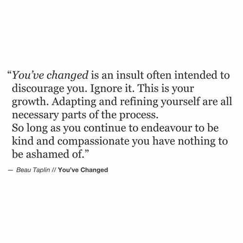 Beau Taplin | You've Changed