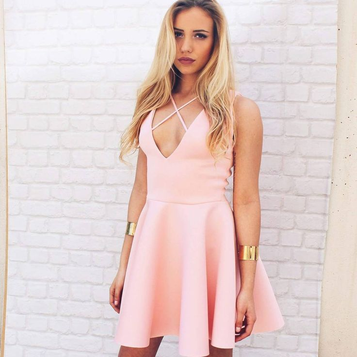 Pink skater dress #nunugirl