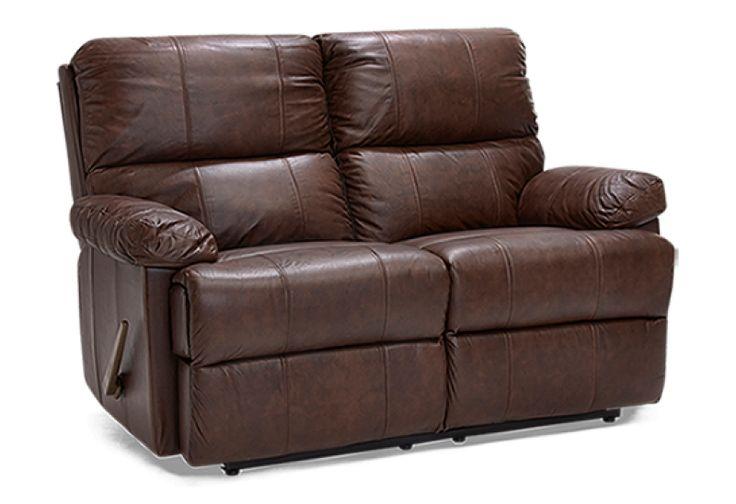 Кожаный диван реклайнер 2х-местный белый модель «Dome» ASKO из Финляндии
