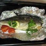 Низкокалорийные блюда - рыба в духовке