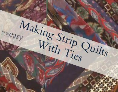 373 best Quilts: From Men's Ties images on Pinterest   Necktie ... : how to make a tie quilt - Adamdwight.com