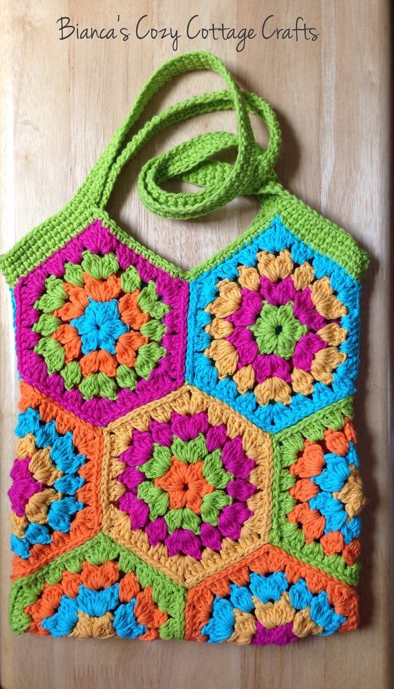 Hey, I found this really awesome Etsy listing at https://www.etsy.com/listing/236364679/tote-bag-market-bag-hexagon-crochet-bag