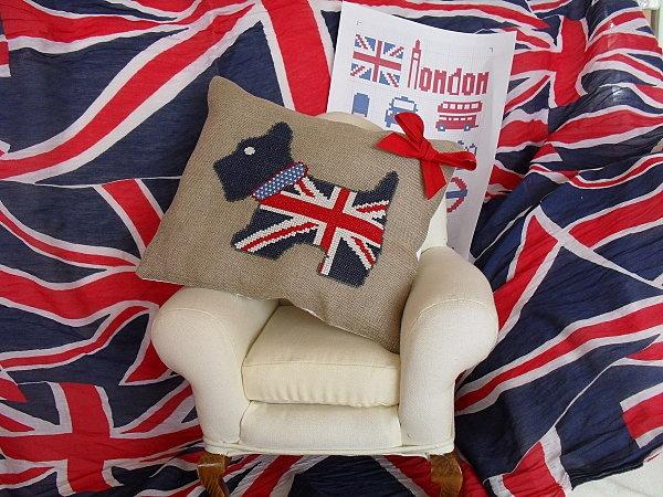 DIY Cross Stitch ~ Union Jack {free pattern}