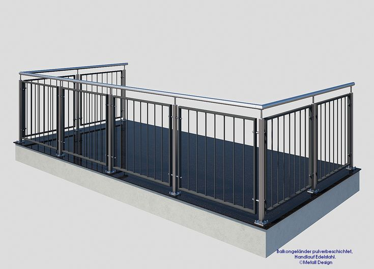 die besten 25 edelstahl balkongel nder ideen auf pinterest. Black Bedroom Furniture Sets. Home Design Ideas