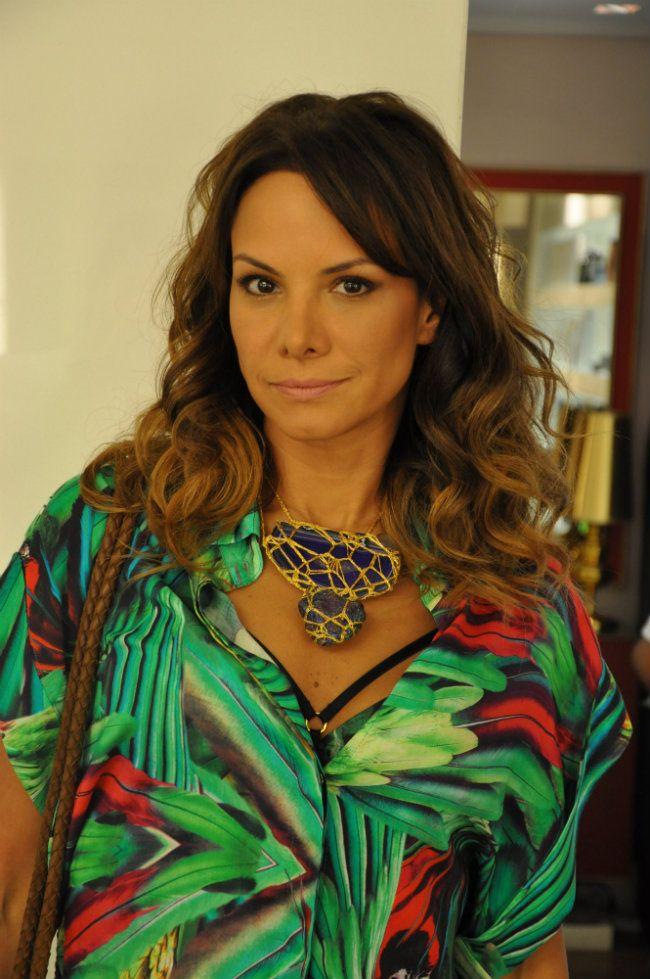 A estilista, Adriana Barra.