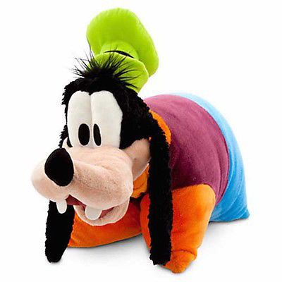 disney parks goofy reverse pillow pet plush new with tag