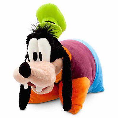 disney parks goofy reverse pillow pet plush new with tag