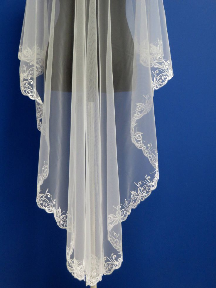 Embroidered wedding veil Lace bridal veil Mantilla veil  Wedding veil, Embroidered bridal veil, Lace veil, Wedding inspiration, Cathedral veil, Embroidered wedding veil, Bride to be, Custom veil, Etsy wedding, Drape style veil, Gold lace veil, Long veil, Chapel veil, Ivory veil, Fingertip veil, Wedding dress #wedding #bridalveil #weddingveil #weddingdress #bridalgown #weddinginspiration #weddings #etsyshop #etsyweddings #bridalhair #weddinghair #weddingaccessories