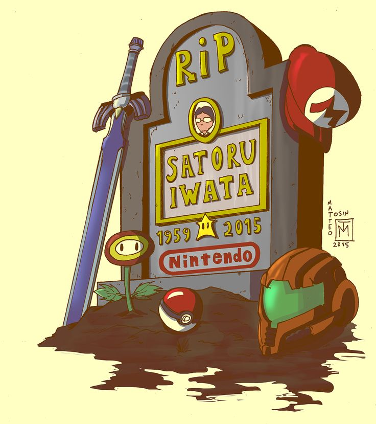 <.< v.v  ;-;  ; w ; ; W ;  ;A; *tears* Satoru-Kun, rest in peace forever always. Thanks for all those years that you have gave Legend of Zelda, Pokemon, Metroid, and Mario the chance to be apart of my life.