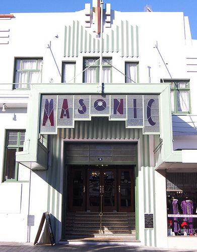 386 best masonic lodges temples monuments images on for Deco hotel napier