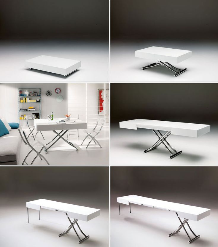 1000 images about cocktail table to dining table on pinterest space saving furniture - Smart furniture for small spaces handy solutions ...