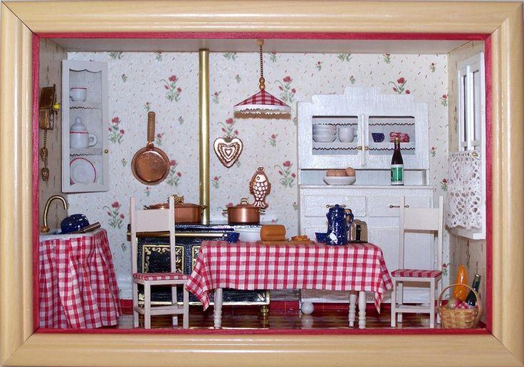 mini vitrine cuisine ann es 50 objets d co la malle aux cadeaux de marie fait maison. Black Bedroom Furniture Sets. Home Design Ideas
