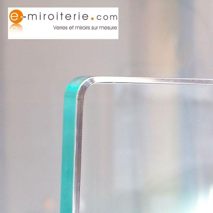 32 best verre sur mesure images on pinterest bandeaus clear glass and business - Dessus de table en verre sur mesure ...