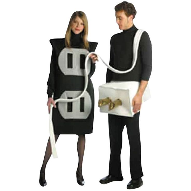 sexy couples costumes   Costume Store - Plug and Socket : Funny Couples Adult Costumes