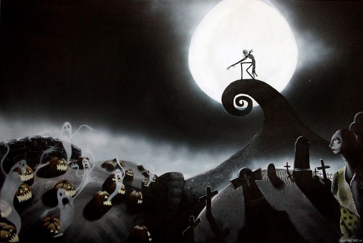 The Nightmare Before Christmas. The most beautifully haunting tale of all time.