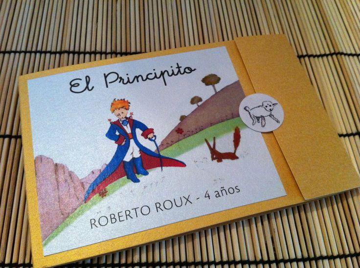 Le Petit Prince Birthday Party Invitation - Little Prince - El Principito. $3.00, via Etsy.