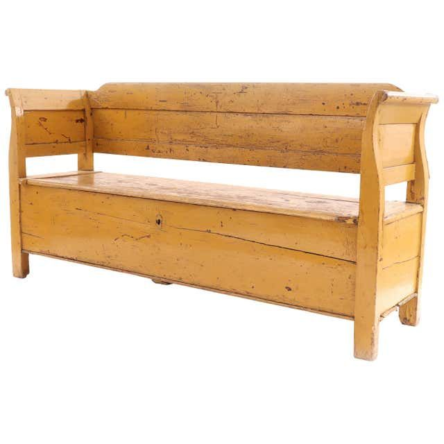 Rustic Country Bench For Sale At 1stdibs In 2020 Rustic Wooden Bench Wooden Bench Benches For Sale