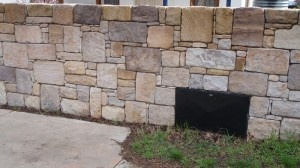 Recycled Sandstone Dry Wall 2