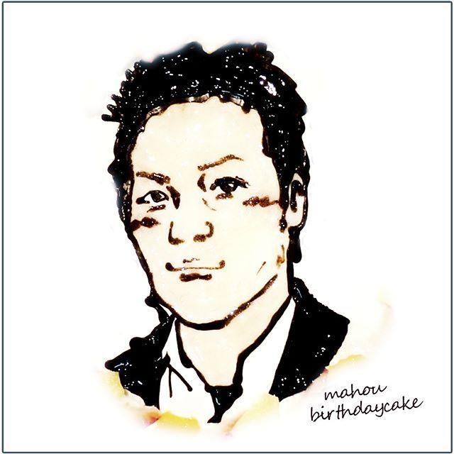 彼氏を男前に  #似顔絵ケーキ #彼氏 #男前 #イケメン #handsome #恋人 #彼氏の似顔絵 #似顔絵 #誕生日ケーキ #オーダーケーキ #バースデーケーキ #portrait #cake #birthdaykake #プレゼント #通販 #宅配 #全国発送 #pinterest